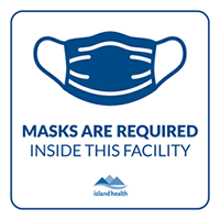 Wear a mask sign