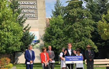 MRI announcement at Nanaimo Regional General Hospital