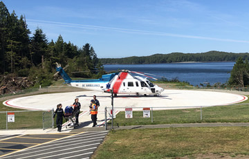 Tofino General Hospital Helipad