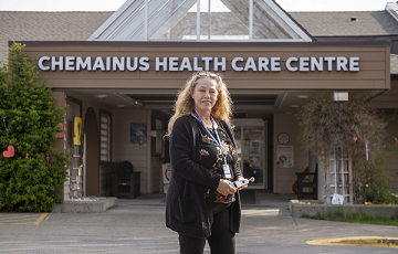 Ingrid Cline, Chemainus Health Care Centre
